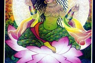 Vrouw van regenbogen - Bloei