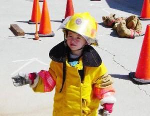 De kleine brandweerman