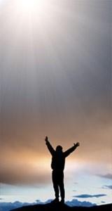 Omarmen van de zegening